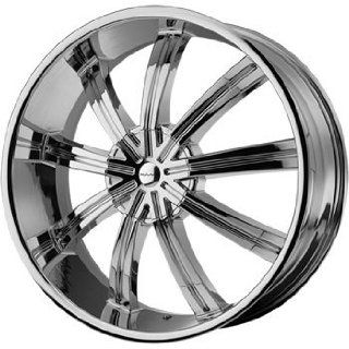 KMC KM672 20x8.5 Chrome Wheel / Rim 6x135 & 6x5.5 with a 38mm Offset and a 100.50 Hub Bore. Partnumber KM67228566238: Automotive
