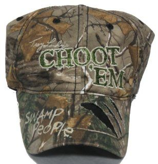 """Swamp People Camo Ball Cap """"Troy Landry Choot 'Em""""  Other Products"""