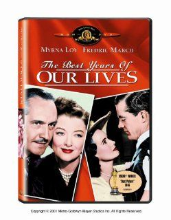 The Best Years of Our Lives: Fredric March, Dana Andrews, Myrna Loy, Teresa Wright, Virginia Mayo, Cathy O'Donnell, Hoagy Carmichael, Harold Russell, Gladys George, Roman Bohnen, Ray Collins, Minna Gombell, Gregg Toland, William Wyler, Daniel Mandell,