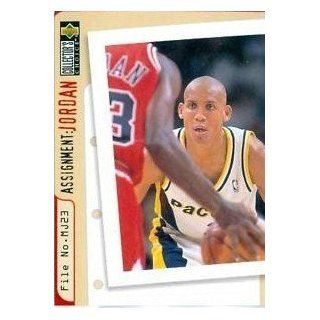 1997 Collector's Choice Assignment Jordan #365 Reggie Miller Sports Collectibles