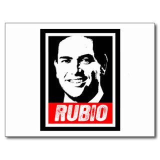 MARCO RUBIO STAMP .png Postcards