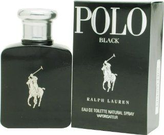 Ralph Lauren Polo Black homme / men, Eau de Toilette, Vaporisateur / Spray 125 ml, 1er Pack (1 x 125 ml): Parfümerie & Kosmetik