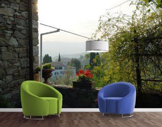 Vlies FotoTapete No.186 Greve in Chianti No.1 Foto Tapeten, Vliestapete, Italien, Wein, Toskana, Landschaft, Natur 145x97cm: Baumarkt