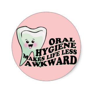 Dentist and Dental Hygienist Gifts Sticker