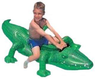 Reittier / Badetier Krokodil 168 x 68 cm: Spielzeug