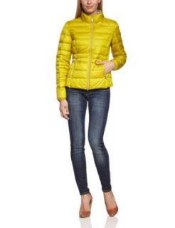 TOM TAILOR Damen Jacke 35209130070/lightdown jacket uni, Gr. 36 (S), Gelb (3433 Acid Yellow): Bekleidung