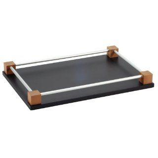 OFFORM Design Tablett aus Holz und Aluminium 270x180 mm Nr.2277 Küche & Haushalt