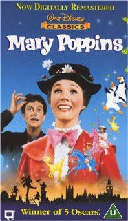 Mary Poppins [VHS] [UK Import]: David Tomlinson, Glynis Johns, Julie Andrews, Dick van Dyke, Robert Stevenson: VHS