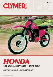 1973 1980 Honda Elsinores 125 250cc CLYMER MANUAL HON ELSINORES 125 250CC 73 80, Manufacturer: CLYMER, Manufacturer Part Number: M317 AD, Stock Photo   Actual parts may vary.: Automotive