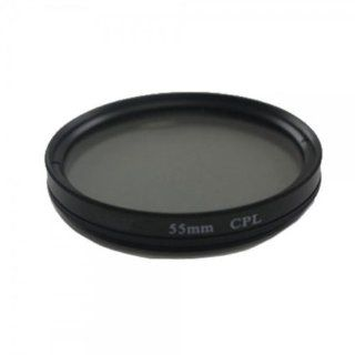 Fast Ship + Free Tracking Number, 55 Mm Circular Polarizing CPL Camera Lens Filter Black Provide Color And Contrast Enhancement  Camera & Photo