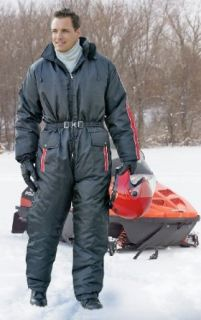 Guide Gear 1   Pc. Snowsuit Black / Red, BLK/RED, LG Clothing