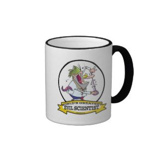 WORLDS GREATEST EVIL SCIENTIST MEN CARTOON COFFEE MUGS
