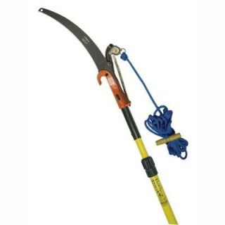 Jameson 7 14 ft. Telescoping Pole Saw with Center Cut Pruner, Blade and Rope TP 14 11