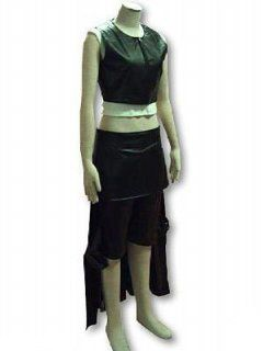 Japanese Anime Final Fantasy VII Cosplay Costume   Tifa Lockhart Leatherette Outfit Adult Sized Costumes Clothing