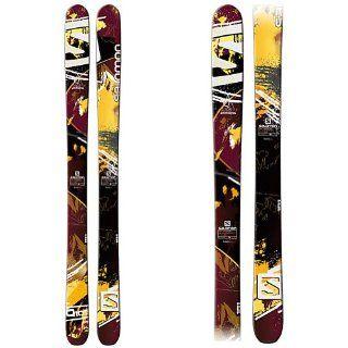 Salomon Q 105 Skis Bordeaux/Brown/Black Mens  Nordic Skis  Sports & Outdoors