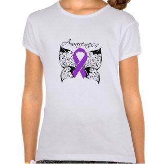 Tattoo Butterfly Awareness   Epilepsy Shirt