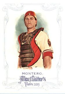 2013 Topps Allen and Ginter Trading Card # 129 Miguel Montero Arizona Diamondbacks: Sports Collectibles