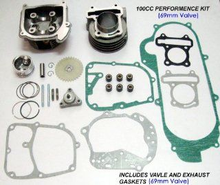 100cc Big Bore Kits 139qmb 50cc Engines(69mm Valve) Gy6 50cc 139qmb 139qma Scooter Moped Parts #88807  Other Products