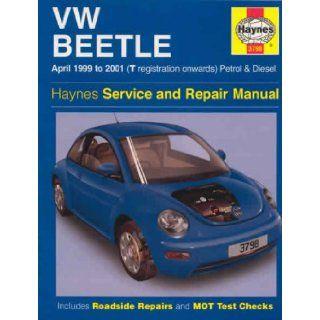 VW Beetle (99 01) Service and Repair Manual (Haynes service & repair manual series) Bob Henderson, Martynn Randall 9781859607985 Books
