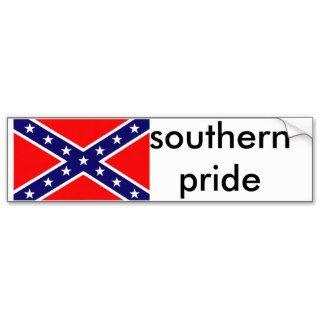 southern pride bumper sticker