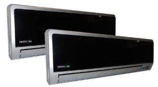 Pridiom PMD183HDX 18, 000 BTU Dual Zone Split Air Conditioner   Through The Wall Air Conditioners