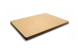 Epicurean Big Block Series 21 by 16 by 1 Inch Thick Cutting Board with Cascade Effect, Natural/ Slate Kitchen & Dining