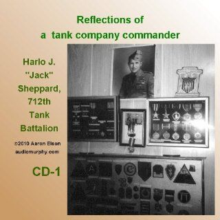 Reflections of a Tank Company Commander (World War II Oral History Audiobooks) Aaron Elson Books