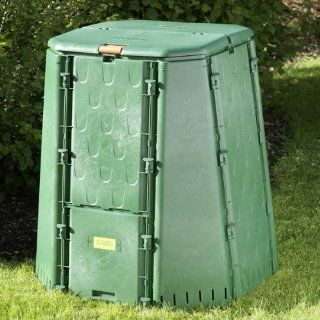 Exaco Juwel Austrian Compost Bin, 187 Gallon (Discontinued by Manufacturer) : Outdoor Composting Bins : Patio, Lawn & Garden
