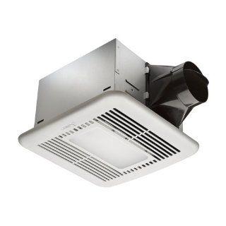 BreezSignature 80 CFM Energy Star Exhaust Bathroom Fan with Light   Bathroom Fan Delta Electronics