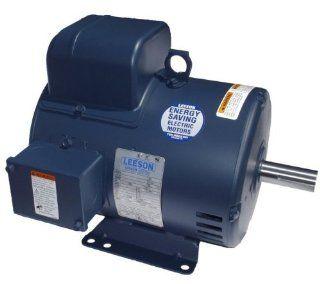 3hp 1725RPM 184T Frame 115/208 230 Volts Open Drip Leeson Electric Motor # 131534   Electric Fan Motors