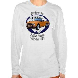 Triumph TR6 Women's AA Fitted  Hoodie