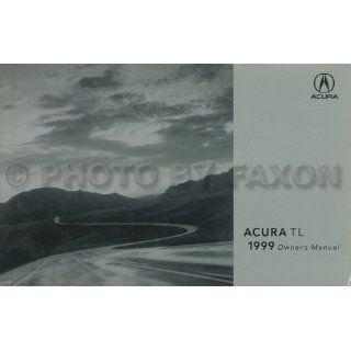 1999 Acura TL Owners Manual Original 3.2TL Acura Books
