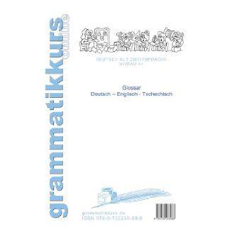 Worterbuch Deutsch   Englisch   Tschechisch Themen A1 (German Edition): Marlene Milena Abdel Aziz  . Schachner: 9783732238088: Books