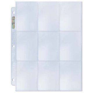 25 Ultra Pro Platinum Storage Pages Gaming (Pokemon / YuGiOh / Magic) Trading Cards Collecting Pages (PLATINUM SERIES 9 Pocket Pages) Sports Collectibles