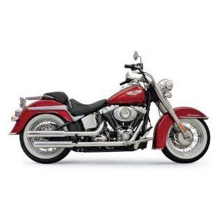 Bassani 1S27N 3 Firepower Grooved Slip On Mufflers For Harley Davidson Softail Deluxe Models Automotive
