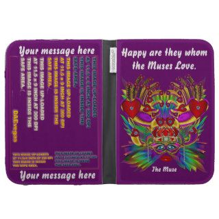 Mardi Gras Valentine Important View Hints Kindle 3G Cases