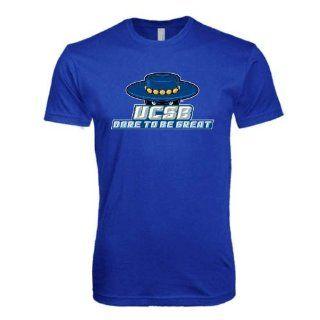 UC Santa Barbara SoftStyle Royal T Shirt 'Dare To Be Great'  Sports Fan T Shirts  Sports & Outdoors