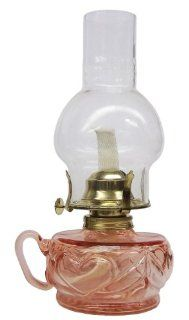Glo Brite by 21st Century L392APK Lite Hearted Glass Oil Lamp, Pink  Decorative Lighting  Patio, Lawn & Garden