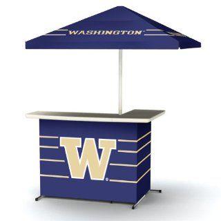NCAA Washington Huskies Wheeled Portable Bag Travel L Shape Umbrella Basic Bar  Sun Shelters  Sports & Outdoors
