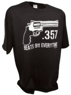 Womens 357 Magnum Handgun 2nd Amendment Pro Gun Tee By Achtung T Shirt LLC: Clothing