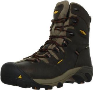 """Keen Mens Detroit 8"""" Safety Leather Boot Shoes"""