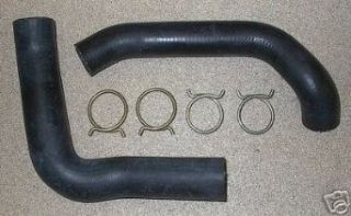 Molded Radiator Hose & OE Style Clamp Set for 1966 Plymouth Belvedere   Satellite & Dodge Charger   Coronet w/361/383/440 Engine & Without AC Automotive