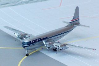 HOBBY MASTER 1/200 Boeing B 377 Electra cruiser Stratford United Airlines (japan import) Toys & Games