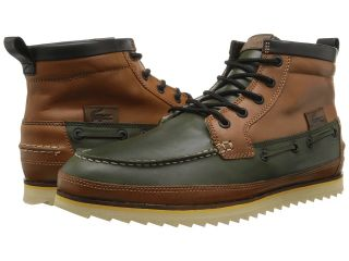 Lacoste Sauville Mid 5 Mens Shoes (Tan)