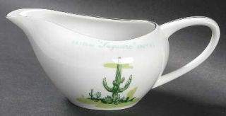 Blakely Arizona Cactus Creamer, Fine China Dinnerware   Multimotif Cactus, Plati