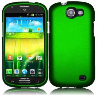 For Samsung Galaxy Express i437 Hard Cover Case Dark Green Accessory Cell Phones & Accessories