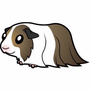 Cartoon Guinea Pig (brown dutch) Photo Cut Outs
