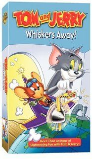 Tom and Jerry: Whiskers Away! [VHS]: Tex Avery, Joseph Barbera, Billy Bletcher, Daws Butler, Bill Cole (III), Pinto Colvig, Hans Conried, June Foray, Stan Freberg, Paul Frees, William Hanna, Bill Lee (IV), Don Messick, Lillian Randolph, Thurl Ravenscroft,