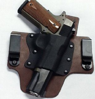 Ruger P95 Right Hand Pro Carry Hybrid Tuckable Gun Holster BROWN : Sports & Outdoors