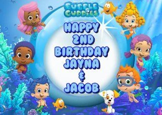 Bubble Guppies Edible Image Frosting Sheet/cake Topper  Decorative Cake Toppers
